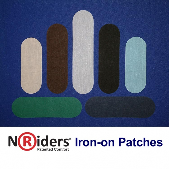 NoRiders Iron-on Patches