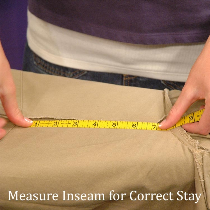 Measuring Garment Inseam
