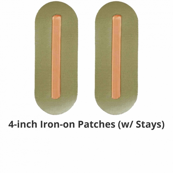 NoRiders 4-inch Iron-on Patches