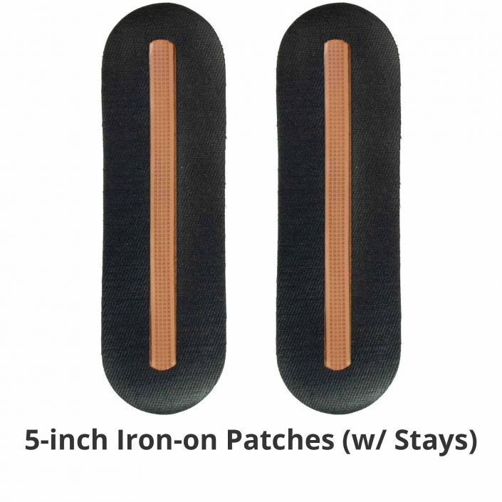 NoRiders 5-inch Iron-on Patches
