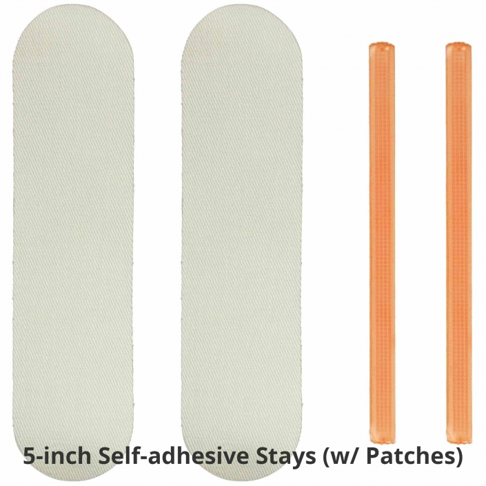 NoRiders 5-inch Self-adhesive Stays